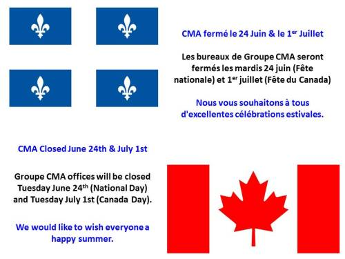 Groupe CMA Ferme Closed